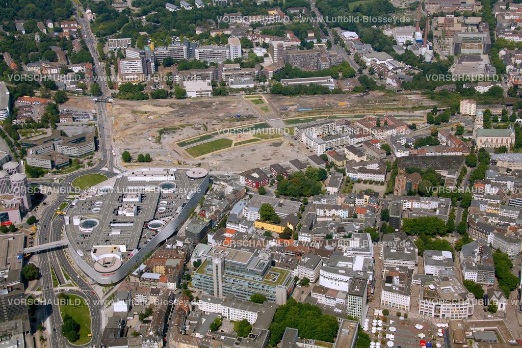 ES10080331   Berliner Platz Limbecker Platz Karstadt, ,  Essen, Ruhrgebiet, Nordrhein-Westfalen, Germany, Europa, Foto: hans@blossey.eu, 14.08.2010