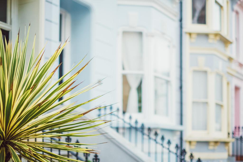 Brighton | britische Architektur, Fassaden, farbenfroh, Brighton, England