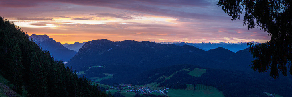 Sonnenaufgang in Thiersee | Sonnenaufgang auf der Ascherjochalm in Thiersee, Tirol