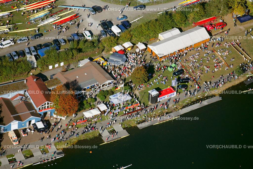 Essen10101Kettwig2915 | Sport, Ruhr, Rudern, Regatta Ruhr Kettwig , Luftbild, Hans Blossey 10.10.2010, Ruhrgebiet,Deutschland , Europa