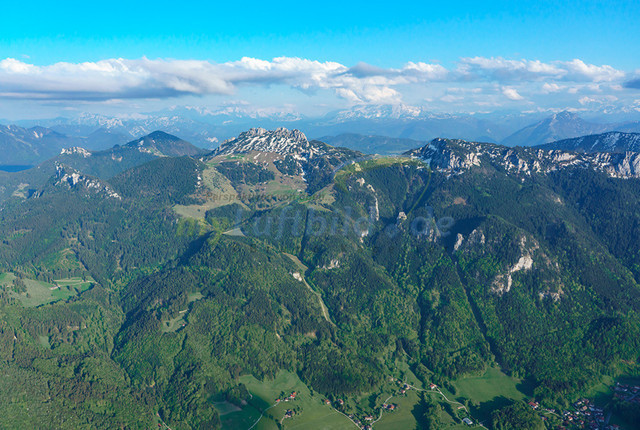 luftbild-kampenwand-bruno-kapeller-02 | Luftaufnahme von der Kampenwand 1669m