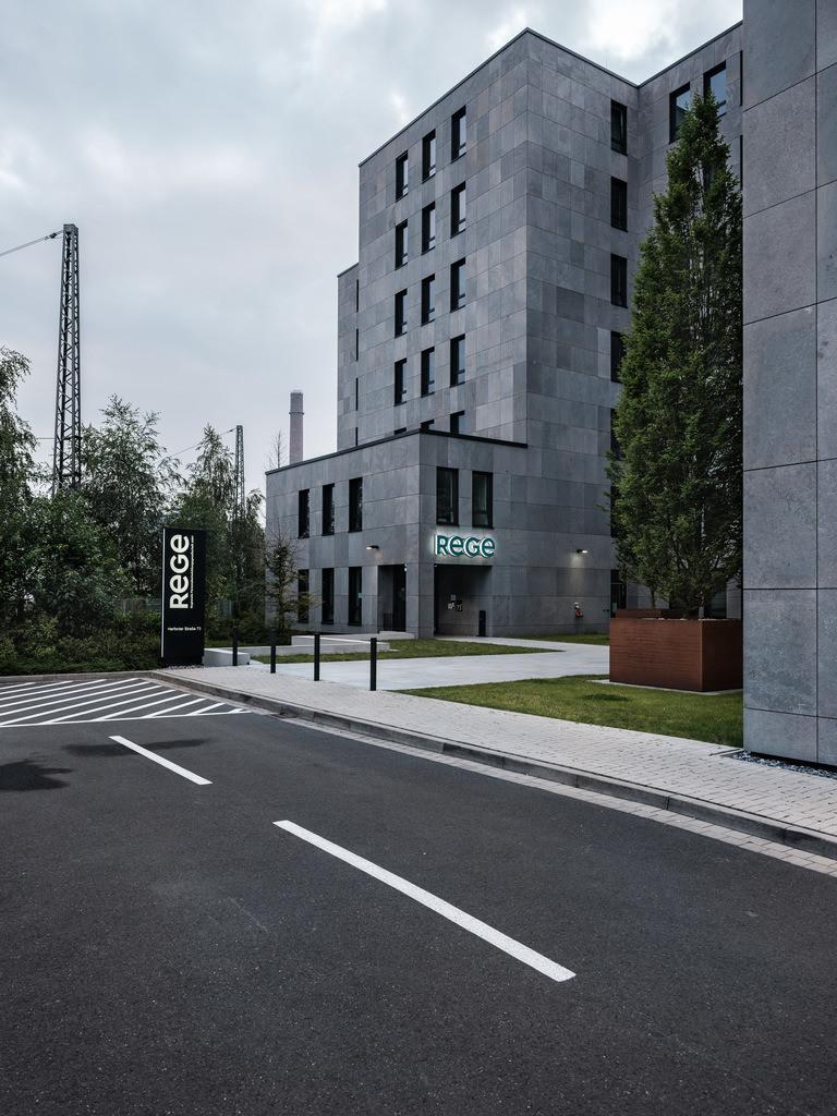 Bürogebäude am Hauptbahnhof | Bürogebäude an der Herforder Straße am Hauptbahnhof in Bielefeld.