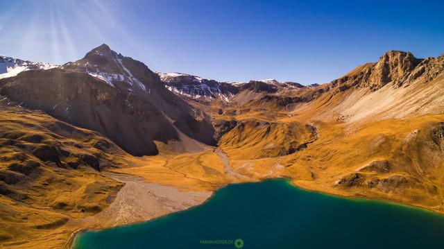 Bergsee   Der Lai da Rims im Val Müstair, einer der schönsten Bergseen