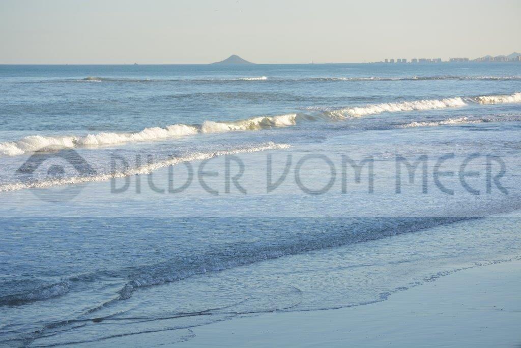 Bilder vom Meer als Wandbild Meer | Wandbild vom  Meer: Wellenspiel am Mar Menor