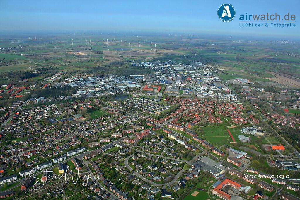 Luftbild Nordsee, Husum, Goethestr, Marienhofweg, Industriegebiet | Luftbild Nordsee, Husum, Goethestr, Marienhofweg, Industriegebiet • max. 4272 x 2848 pix.