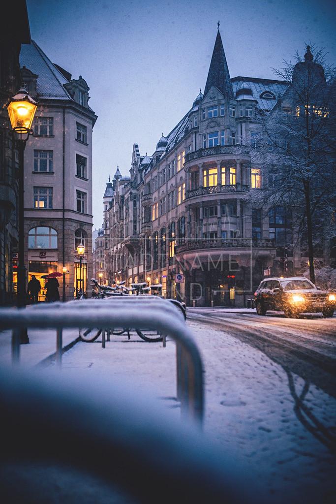 Winter Schnee Leipzig  (4)