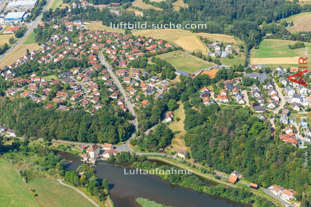 burghaig-19-532   aktuelles Luftbild von Burghaig   - Luftaufnahme wurde 2019 von https://frankenair.de mittels Flugzeug (keine Drohne) erstellt.